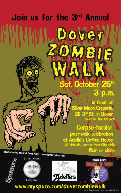 The Official Zombie Walk Poster